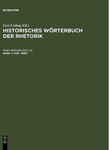 9783484681071: Pos - Rhet (German Edition)