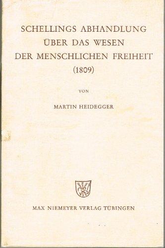 9783484701083: Schellings Abhandlung über das Wesen der menschlichen Freiheit (1809)