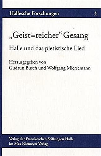 Geist-reicher' Gesang: Miersemann, Wolfgang, Busch, Gudrun