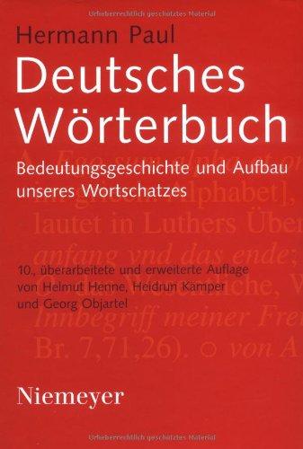 9783484970076: Deutsches Wörterbuch. Buch + CD-ROM