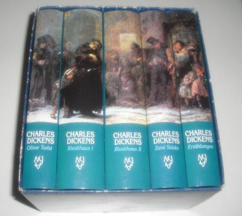 Ausgewählte Werke. 5 Bände: Dickens, Charles
