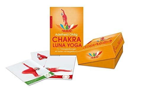 9783485014298: Chakra-Luna-Yoga; 7 x 7 Energieübungen ; Deutsch; Landkarten ; arten mit Begleitbuch -