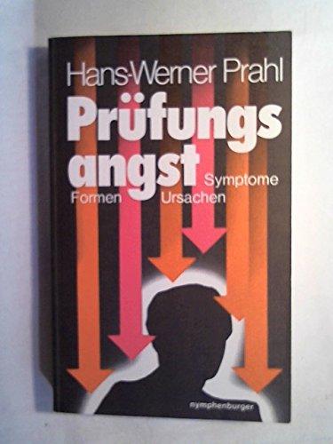 9783485018395: Pr�fungsangst. Symptome, Formen, Ursachen