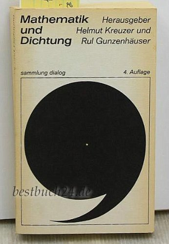 9783485033039: Mathematik und Dichtung. Versuche zur Frage einer exakten Literaturwissenschaft.