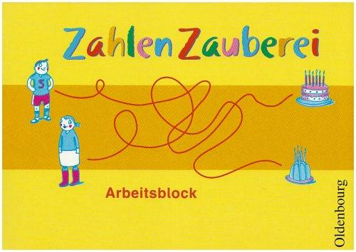 ZahlenZauberei, Arbeitsblock (Livre en allemand): Ruth Dolenc