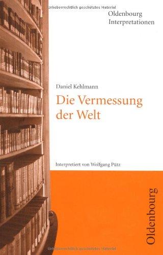 9783486001105: Kehlmann, Die Vermessung der Welt