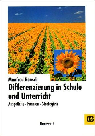 9783486034288: Differenzierung in Schule und Unterricht. Ansprüche - Formen - Strategien.