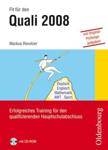 Fit für den Quali 2008: Erfolgreiches Training für den qualifizierenden ...