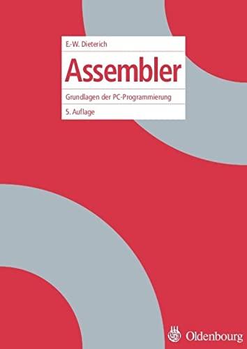 9783486200010: Assembler: Grundlagen der PC-Programmierung