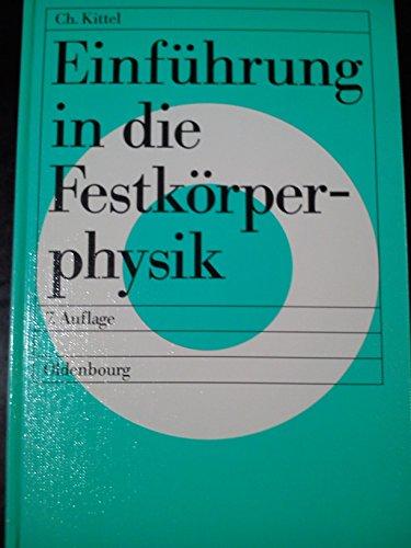 9783486202403: Einführung in die Festkörperphysik