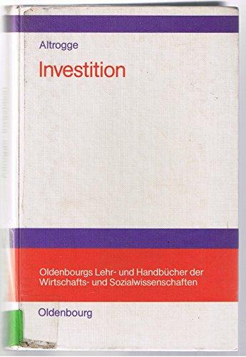 Investition: Altrogge, Günter: