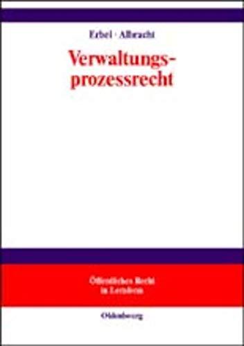 Verwaltungsprozessrecht.: Erbel, Günter; Albracht,