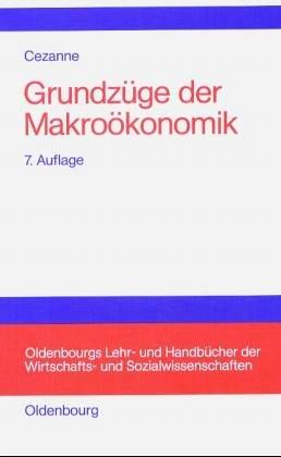 9783486218428: Grundzüge der Makroökonomik