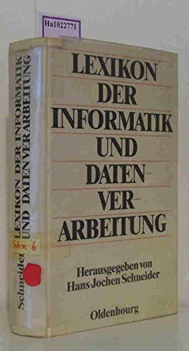 9783486226614: Lexikon der Informatik und Datenverarbeitung.