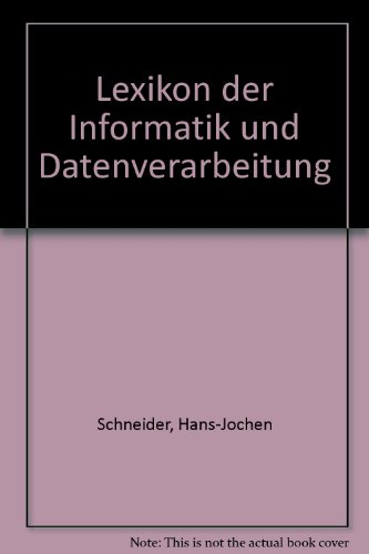 9783486226621: Lexikon der Informatik und Datenverarbeitung