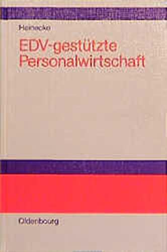 9783486227437: EDV-gestützte Personalwirtschaft: Methoden und DV-Instrumente