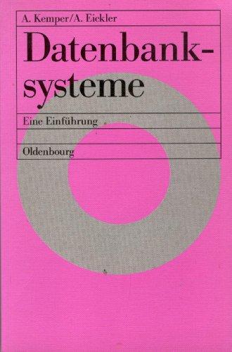 9783486230086: Datenbanksysteme. Eine Einführung
