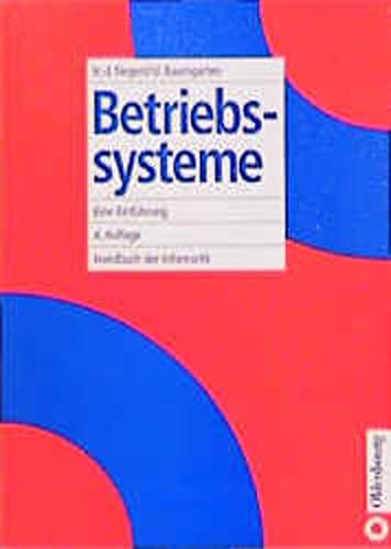 9783486240191: Betriebssysteme: Eine Einfuhrung (German Edition)