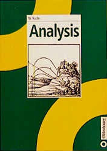 9783486241198: Analysis (Deutsch / German)