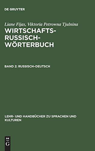 9783486243024: Russisch-Deutsch (Lehr- Und Handbücher Zu Sprachen Und Kulturen)