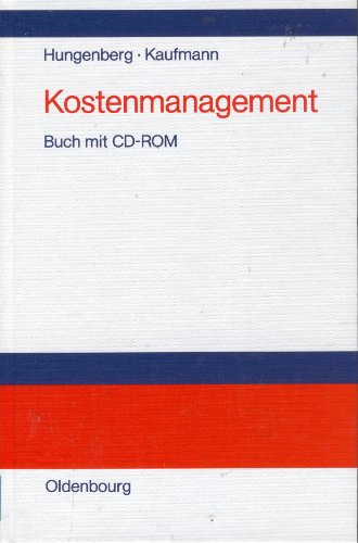 9783486245165: Kostenmanagement. Einführung in Schaubildform