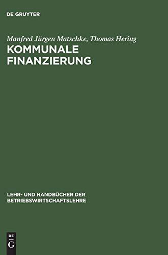 Kommunale Finanzierung: Manfred Jürgen Matschke