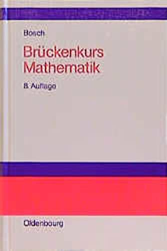9783486250848: Brückenkurs Mathematik