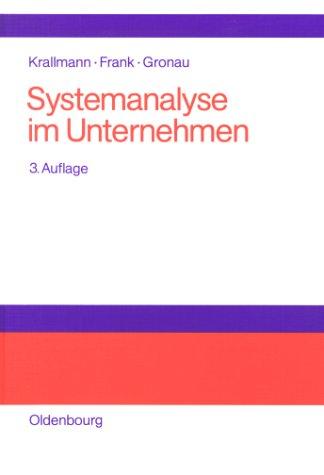 9783486251241: Systemanalyse im Unternehmen. Partizipative Vorgehensmodelle, objekt- und prozeßorientierte Analysen, flexible Organisationsarchitekturen.