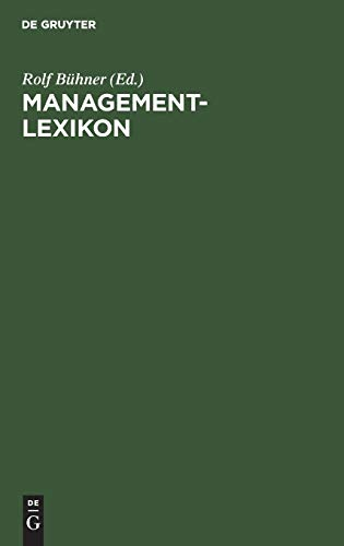 9783486251463: Management-Lexikon.