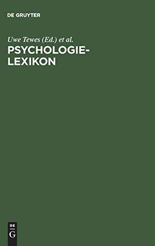 9783486252293: Psychologie-Lexikon (German Edition)