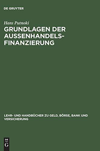 9783486255348: Grundlagen der Außenhandelsfinanzierung.