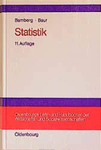 9783486255409: Statistik
