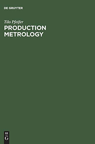 9783486258851: Production Metrology