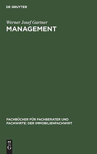 9783486259377: Management: Einführung in Management, Kommunikation und Personalwirtschaft (Fachbucher Fur Fachberater Und Fachwirte: Der Immobilienfach)
