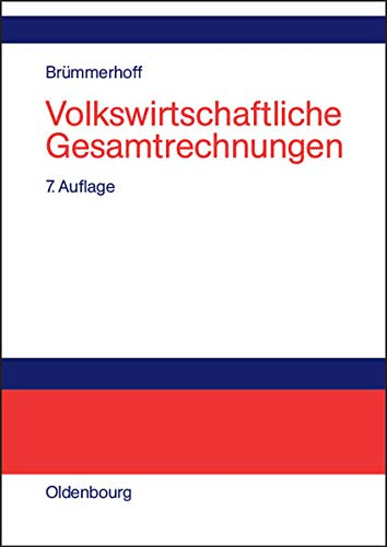 Volkswirtschaftliche Gesamtrechnungen (2002): Br�mmerhoff, Dieter: