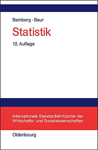 9783486272185: Statistik