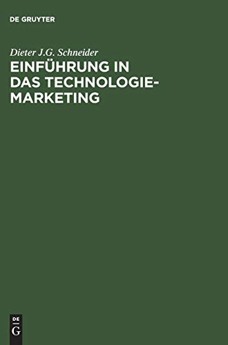 9783486272475: Einfuhrung in Das Technologie-Marketing