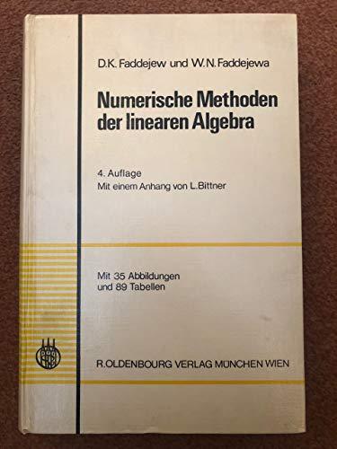 9783486311242: Numerische Methoden der linearen Algebra.