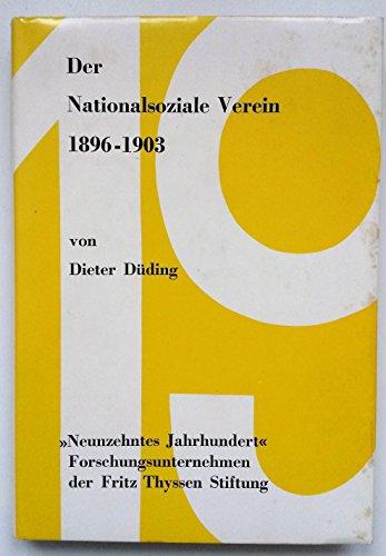 9783486438017: Der Nationalsoziale Verein 1896-1903.