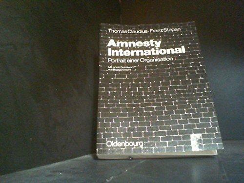 9783486492217: Amnesty International : Portrait einer Organisation.