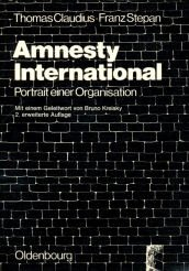 9783486492224: Amnesty International: Portr. e. Organisation (German Edition)