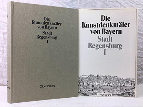 9783486504521: Die Kunstdenkmäler von Bayern: Stadt Regensburg I: Dom und St. Emmeram. Unveränderter Nachdruck der Ausgabe von 1933: 22