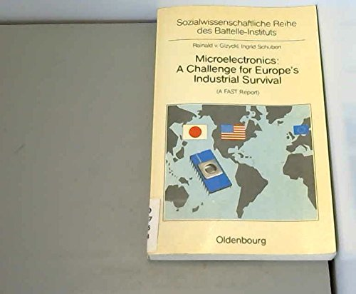 Microelectronics: A challenge for Europe's industrial survival: Gizycki, Rainald von
