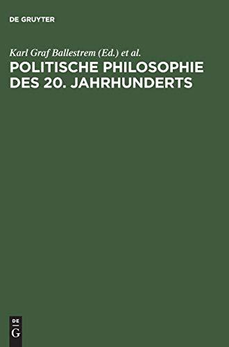 9783486551419: Politische Philosophie des 20. Jahrhunderts
