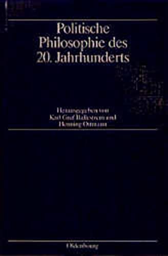 9783486551426: Politische Philosophie Des 20. Jahrhunderts