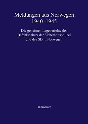 Meldungen aus Norwegen 1940-1945: Stein Ugelvik Larsen