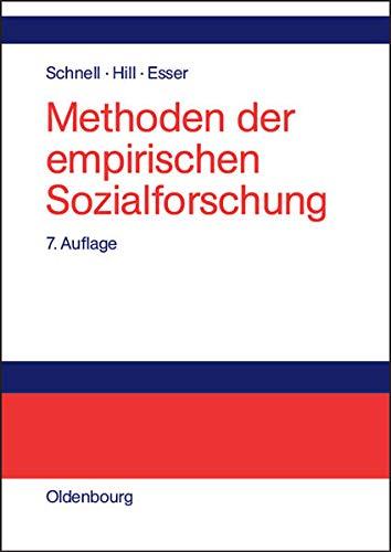 9783486576849: Methoden der empirischen Sozialforschung