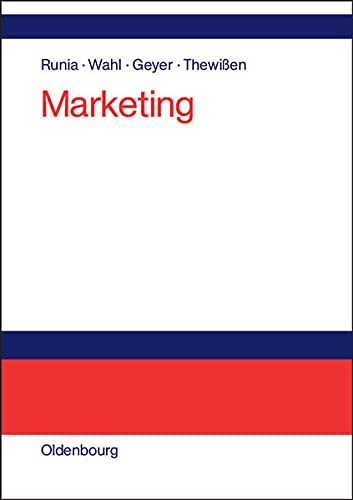 9783486578584: Marketing