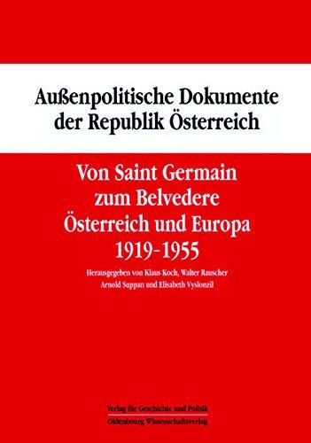 9783486583786: Von Saint Germain zum Belvedere: Österreich und Europa 1919-1955