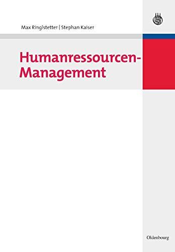 Humanressourcen-Management: Max Ringlstetter